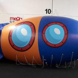 Bespoke helium filled blimp