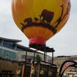 African Safari Hot Air Balloon Styled Inflatable Blimp