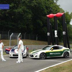 Giant Inflatable Cricket Stumps